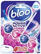 Bloo - A hygienically clean and fresh toilet with a boost of fragrance with every flush Clean - A strong foaming action to prevent dirt and 100% anti-limescale to keep the loo hygienically clean in between deep cleans Fragrance - Every ball is loaded...