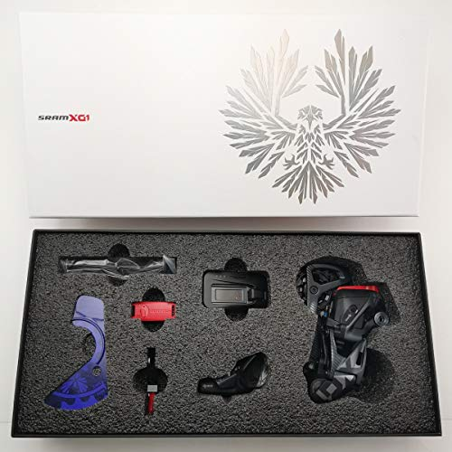 SRAM X01 Eagle AXS Upgrade Kit Black, Derailleur/Controller/Battery/Charger