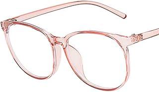 geneic Anti Blauw Licht Bril Blokkeren Filter Ronde Computer Bril Mannen Vrouwen Super Licht Frame Brillen Roze Clear Brillen
