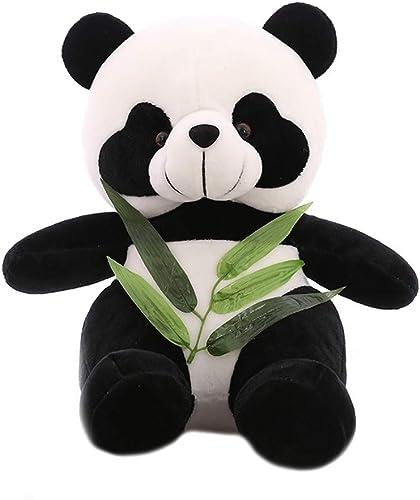 LAIBAERDAN Panda Spielzeug Sitzposition Bambusblatt Panda Plüsch Puppe Geschenk mädchen Kissen 25-30-40-50-60Cm, 60Cm