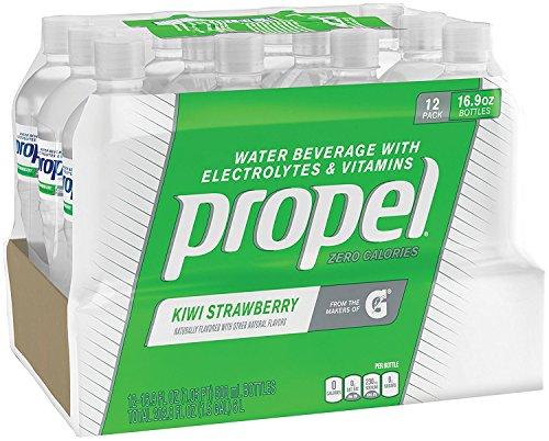 Propel, Kiwi Strawberry, Zero Calorie Sports Drinking Water with Antioxidant Vitamins C & E, 16.9 Ounce Bottles