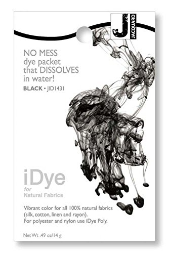 Jacquard 103108 iDye Fabric Dye 14 Grams-Black