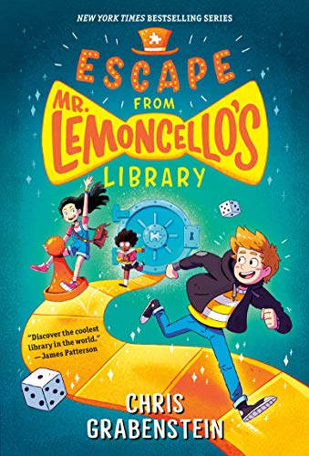 Compare Textbook Prices for Escape from Mr. Lemoncello's Library Reprint Edition ISBN 0783324917055 by Grabenstein, Chris