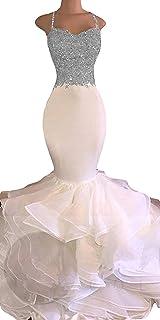 Yuki Isabelle - Vestido Largo de Noche para Mujer, diseño de Sirena