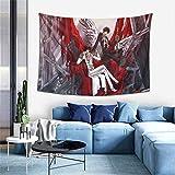 Hdadwy Lelouch Lamperouge Kururugi Suzaku Tapisserie Tenture Murale Anime Tapisseries Mur Art Tapisserie Murale Décor À La Maison pour Chambre Salon Dortoir (40 X 60 Pouces)