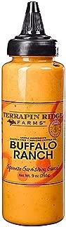 Terrapin Ridge Farms Buffalo Ranch Squeeze 7.75 Ounces - Gluten Free & Low Sugar