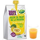 WANA BANA Pulpe de Fruit de Passion sans Sucre Ajouté 11°Bx Gourde 500 g