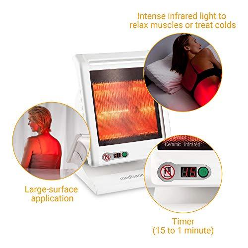 Medisana IR 885 Infrarot-Wärmelampe 300 Watt – Infrarotleuchte zur Behandlung von Bild 4*