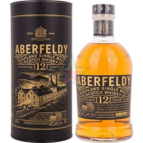 Aberfeldy 12 Years Old Highland Single Malt Scotch Whisky 40,00% 0,70 Liter