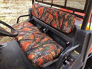 Durafit Seat Covers 2008-2014 Kubota RTV 900 Orange Camo Seat Covers NOT X Model