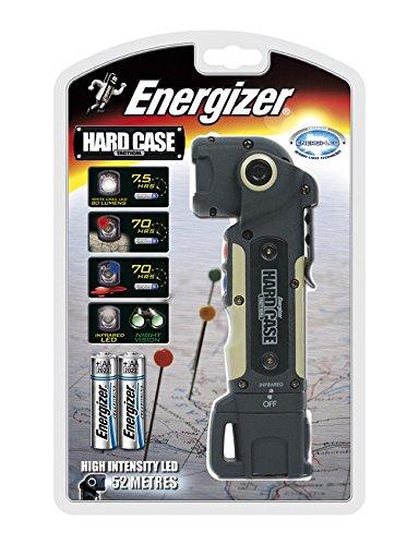 Energizer Hardcase Led Tactical - Linterna, Color Negro y Verde Militar