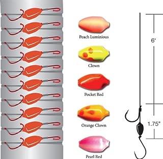 Gamakatsu 伽玛卡兹 Side Drifting Rig Tackle, Size: (10 Pack) Multi