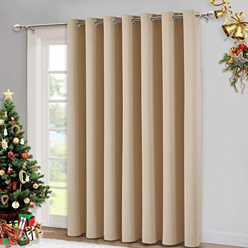 NICETOWN Noise Reducing Patio Drapes