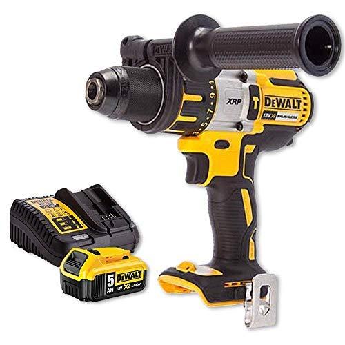 DeWalt DCD996N 18v XRP Brushless Hammer Combi Drill + 1 x 5Ah Battery & Charger