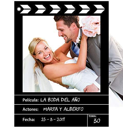 Marco photocall personalizado estilo CINE. Impreso en cartón 4mm/Cartón Pluma 5mm. (70x100/90x120cm)
