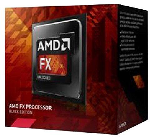 FX-9370 Black Edition - Procesador (4,4 GHz, zócalo AM3+ (FD9370FHKBOF)