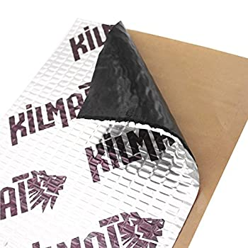 KILMAT 50 mil 50 sqft Car Sound Deadening Mat Butyl Automotive Sound Deadener Audio Noise Insulation and dampening