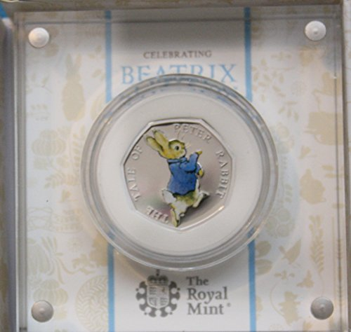 2017 Peter Rabbit Silver Proof Coin Beatrix Potter Series Sold Out At The Royal Mint