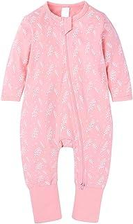 GYUANLAI Newborn Baby Fashion Zipper Long Sleeve Printing Pattern Autumn Winter Rompers Jumpsuit