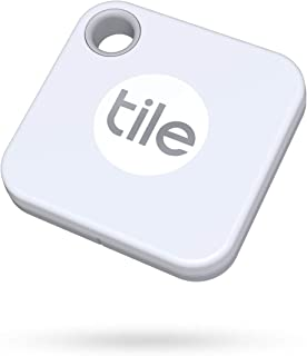 Tile Mate (2020) 1-pack - Bluetooth Tracker, Keys Finder and Item Locator for Keys, Bags and More; Water Resistant with 1 ...