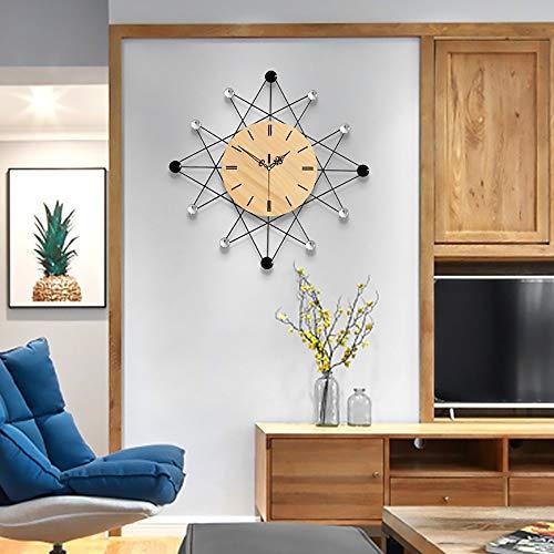 KK Timo Reloj Nordic Reloj Creativo Reloj De Pared Sala De Estar Dormitorio Corredor Personalidad Reloj Minimalista Mudo Hogar Mesa Colgante Diseño De Arte Reloj