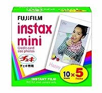 FUJIFILM インスタントカラーフィルム instax mini 5パック INSTAX MINI K5