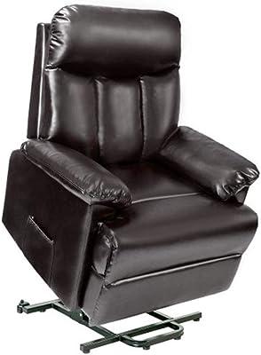 Amazon.com: Mcombo 7406 sofá reclinable eléctrico de gran ...
