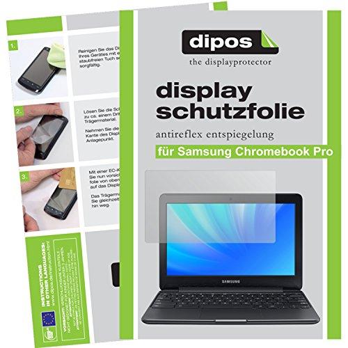 dipos I 2X Schutzfolie matt kompatibel mit Samsung Chromebook Pro Folie Bildschirmschutzfolie