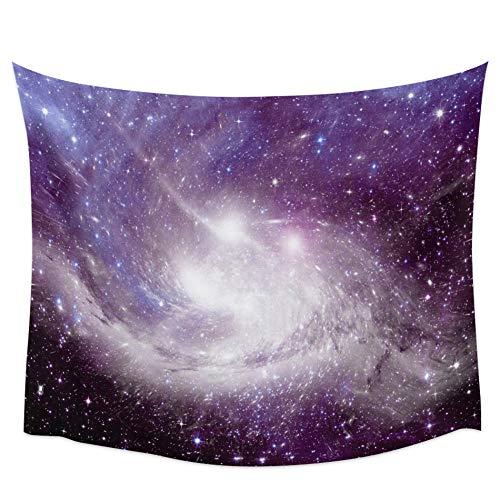 WAXB Tapiz Tapiz De Color De Sueño Cósmico De Nebulosa del Cielo, Manta De Pared para Habitación Colgante, Alfombra De Yoga, Decoración Artística para El Hogar, Alfombra De Playa Rectangular Grande