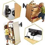 (6 Pack) SYOSIN Correas para Muebles Antivuelc, kit de Correas de Anclaje para Muebles a Prueba de Bebés,Correas para Muebles de Seguridad,para a Prueba de Bebés y Protección de Mascotas