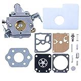Haishine Kit de Filtro de Aire de carburador con Junta de diafragma de carburo para STIHL 017 018 MS170 MS180 MS 170 180 Motosierra OEM # ZAMA C1Q-S57