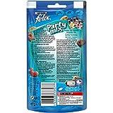 Felix Party Mix Friandises pour Chat Saveur Océan, Le Lot de 8 x 60g