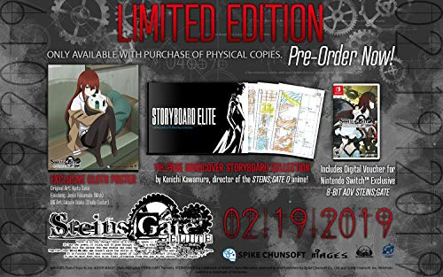 STEINS;GATE ELITE: Limited Edition - Nintendo Switch
