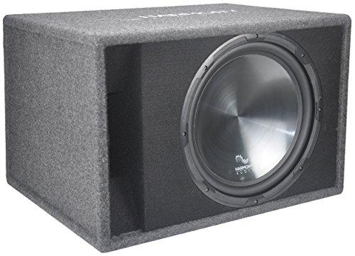 "Harmony Audio HA-RS15 Car Stereo Rhythm Loaded 15"" Vented 900W Sub Box Enclosure"