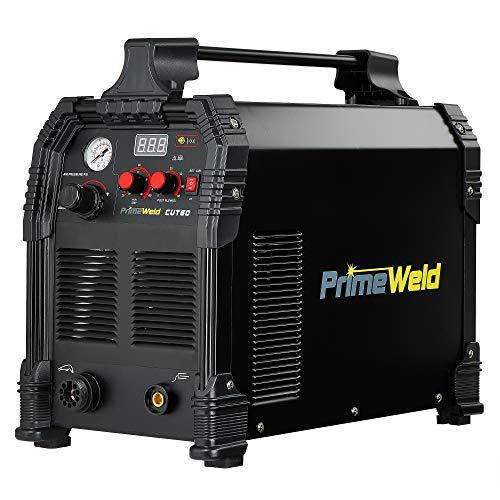 PRIMEWELD CUT60 60Amp Non-Touch Pilot Arc PT60 Torch Plasma Cutter...