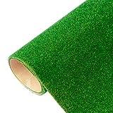 ZIXIXI Künstlicher Kunstrasen Synthetischer Rasen, künstlicher Grasrasen mit hoher Dichte für Hunde Haustiere, Innen-Außenlandschafts-Mattenwiese Miniatur-Gartenbaugras (100 x 40 cm)