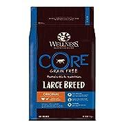 Wellness CORE Large Breed Original Dog Food Dry, Grain Free - Turkey & Chicken, 10 kg