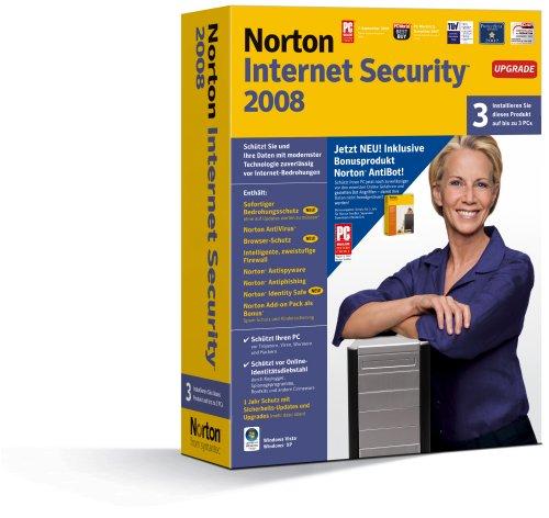 Norton Internet Security 2008 incl. Norton AntiBot 3 Benutzer - Upgrade - deutsch
