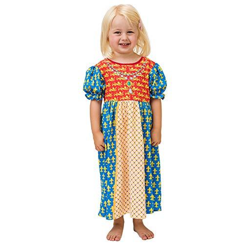 PLAY'N'WEAR Mittelalter Prinzessin Nachthemd & Lustige Homewear Kostüme (3-4 Jahre)