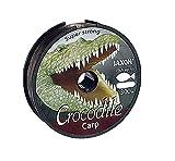 Jaxon Angelschnur Crocodile CARP 600m Spule 0,25-0,35mm Monofile Karpfen Schnur (0,025€/m) (0,30mm...
