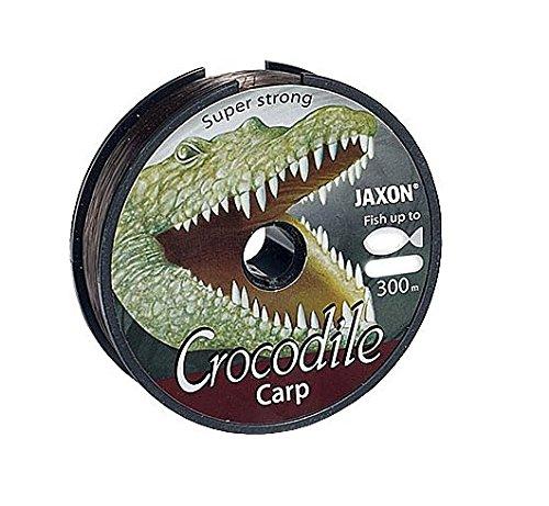 Jaxon Angelschnur Crocodile CARP 600m Spule 0,25-0,35mm Monofile Karpfen Schnur (0,025€/m) (0,30mm / 16kg)