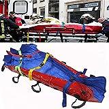 Camillas portátiles de Emergencia para traslado de Pacientes para Ambulancia hospitalaria, Camilla de colchón de vacío portátil, con Bomba de vacío, Carga máxima de 250 kg