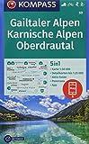 KOMPASS Wanderkarte Gailtaler Alpen, Karnische Alpen, Oberdrautal: 5in1 Wanderkarte 1:50000 mit Panorama, Aktiv Guide und Detailkarten inklusive Karte ... Langlaufen. (KOMPASS-Wanderkarten, Band 60) - KOMPASS-Karten GmbH