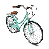 Micargi Roasca NV3 26 inch Women's Shimano Nexus Inter-3 Three Speed City Bike Hi-Ten Steel...