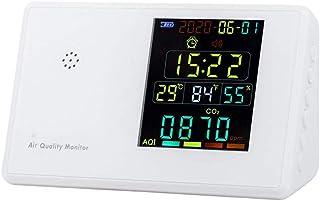 Matobuy 空気測定器 マルチテスター 空気汚染測定器 空気質検出器 空気品質モニター デジタルLCD ホルムアルデヒド検出器 HCHO/TVOCなどテスター AQI空気質モニター ガス分析計 (JSM-133)