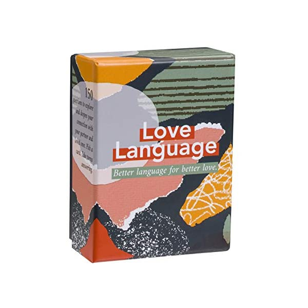 Love Language: The Card Game – 150 Conversation Starter Questions for Couples...