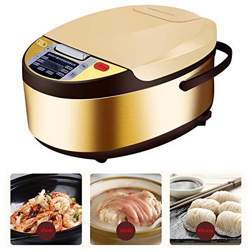 AURALLL Rice Cooker Steamer Spatule & Mesureur - Quick & Easy - Riz Parfait à Haute température Protection multicuiseur Fonctions pour 1-6 Personnes