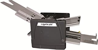 Martin Yale 1217A Automatic Folder; 10300 Sheets/hour; 7 Folds Types: Z, Half, Letter, Baronial, Right Angle, Double Parallel