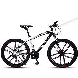 Vélo pour Enfant, Vélo 24 Pouces VTT, Suspension de Fourche, Vélo Adulte, Vélo pour Garçons et Filles