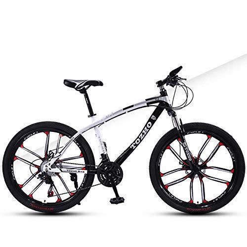 Vélo pour Enfant, Vélo 24 Pouces VTT, Suspension de Fourche, Vélo Adulte, Vélo pour Garçons et...